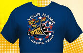 Dance Team T-Shirt DAN-4001