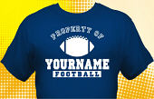 Football Team T-Shirt FBL-1015