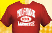 Lacrosse Team T-Shirt LAC-1003