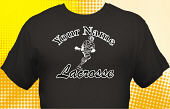 Lacrosse Team T-Shirt LAC-1008