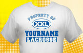 Lacrosse Team T-Shirt LAC-1010