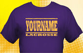 Lacrosse Team T-Shirt LAC-1012