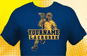 Lacrosse Team T-Shirt LAC-1014
