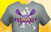Lacrosse Team T-Shirt LAC-4001