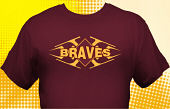 School Braves T-Shirt MBA-1001
