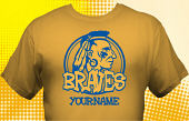 School Braves T-Shirt MBA-1002