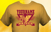 School Braves T-Shirt MBA-1011