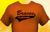 School Braves T-Shirt MBA-1015