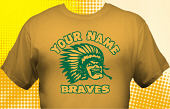 School Braves T-Shirt MBA-1016