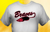 School Braves T-Shirt MBA-2002