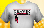 School Braves T-Shirt MBA-2003