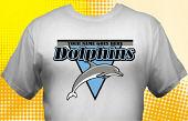 Dolphins T-Shirt MDO-4006