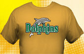 Dolphins T-Shirt MDO-4011
