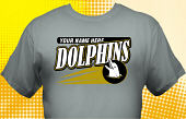 Dolphins T-Shirt MDO-4012