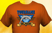 Dolphins T-Shirt MDO-5001