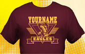 Eagles T-Shirt MEA-1010