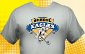 Eagles T-Shirt MEA-4025