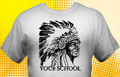 Chiefs & Indians T-Shirt MIN-1001