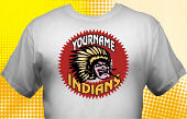 Chiefs & Indians T-Shirt MIN-3002