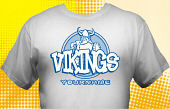 Vikings T-Shirt MVI-1005