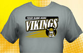 Vikings T-Shirt MVI-3007