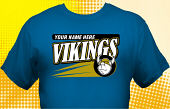 Vikings T-Shirt MVI-3008