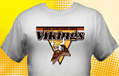 Vikings T-Shirt MVI-4005