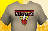 Vikings T-Shirt MVI-4006