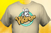 Vikings T-Shirt MVI-4009