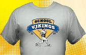 Vikings T-Shirt MVI-4016