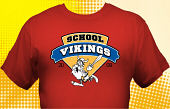Vikings T-Shirt MVI-4017