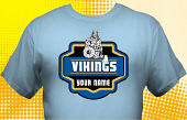Vikings T-Shirt MVI-4029