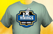 Vikings T-Shirt MVI-4030