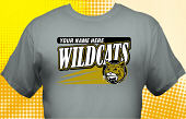 Wildcats T-Shirt MWC-3003