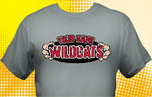 Wildcats T-Shirt MWC-4007