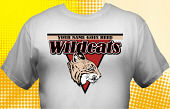 Wildcats T-Shirt MWC-4008