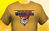 Wildcats T-Shirt MWC-4009
