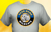 Wildcats T-Shirt MWC-4019