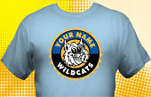 Wildcats T-Shirt MWC-4020