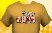Wildcats T-Shirt MWC-4037