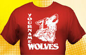 Wolves T-Shirt MWF-1002