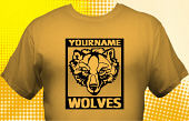 Wolves T-Shirt MWF-1010