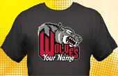 Wolves T-Shirt MWF-4001