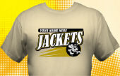 Yellowjackets T-Shirt MYJ-3008