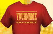 Softball Team T-Shirt SBL-1001