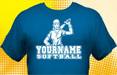 Softball Team T-Shirt SBL-1002