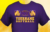 Softball Team T-Shirt SBL-1003