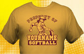 Softball Team T-Shirt SBL-1004