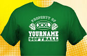 Softball Team T-Shirt SBL-1005