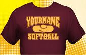 Softball Team T-Shirt SBL-1007